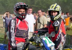 Ludivine Puy et Audrey Rossat 1ère et 2ème de la superfinale